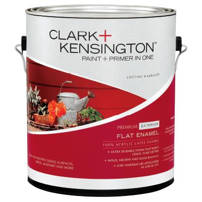 Clark + Kensington Exterior Flat Enamel