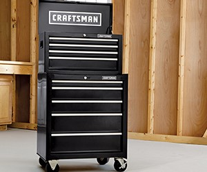 Craftsman tool chest and tool cabinet - father's day gift ideas