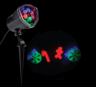 Holiday Projectors and Spotlights