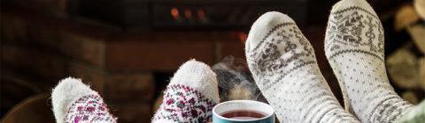 conserve heat fireplace